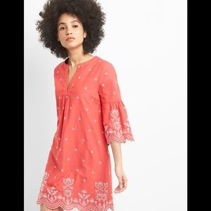 Gap Eyelet Embroidered Dress Sz L (R18)